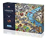 Gibsons London Landmarks Jigsaw 1000 Pieces Puzzle