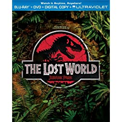 The Lost World: Jurassic Park (Blu-ray + DVD + Digital Copy + UltraViolet)