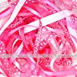Ribbon off cut bundle - Pink shade - contains 10 different 1 metre ribbons