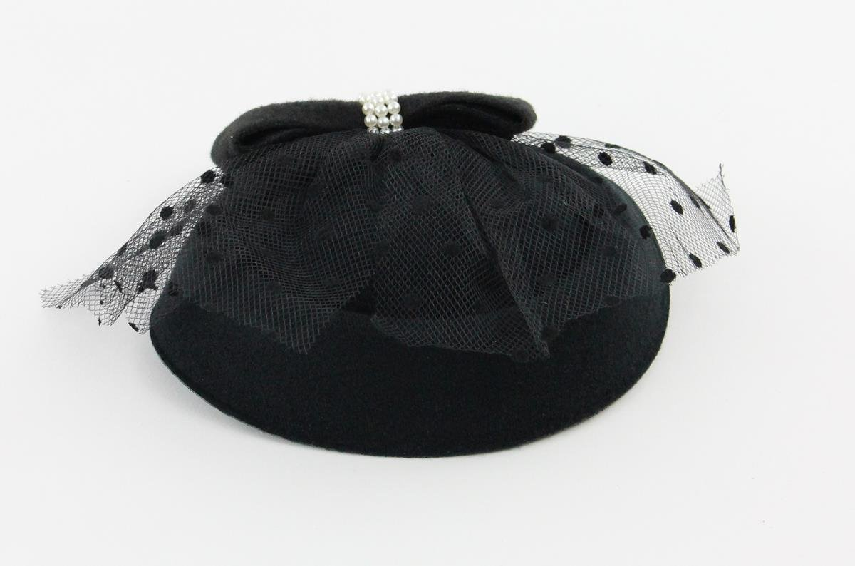The Kate Pillbox Fascinator Hat with Hair Clip for Women 2