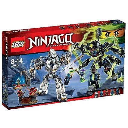 LEGO Ninjago - Playthèmes - 70737 - Jeu De Construction - Le Combat Des Titans