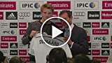 16-Year-Old Odegaard Unveiled at Real Madrid