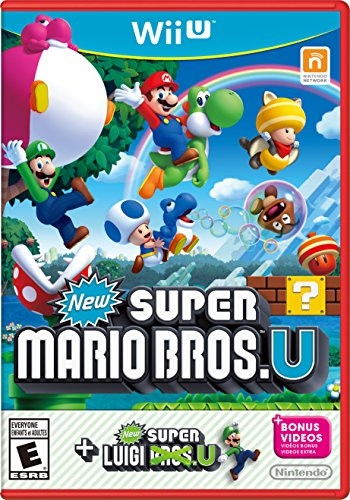 New Super Mario Bros. U + New Super Luigi U - Wii U (Wiiu Super Mario Brothers compare prices)