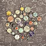 Prima Marketing 569518 School Memories Decorative Metal Brads, 32-Pack