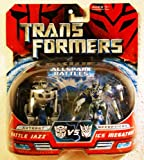 Transformers Allspark Battlers 2-pack Autobot Battle Jazz vs. Ice Megatron