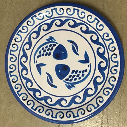tommy-bahama-blue-fish-melamine-dinner-plates-set-of-4-by-tommy-bahama