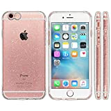 Highend berry iPhone 6s / 6 4.7インチ 落下防止 用 ストラップホール 保護キャップ 一体型 ソフト TPU ケース EXTRA クリア ラメ