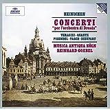 Concerti 'per l'orchestra di Dresda' (Heinichen, Veracini, Quantz, Pisendel, Fasch, Dieupart) /Musica Antiqua Koln * Goebel