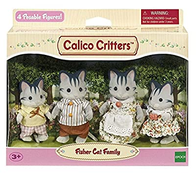 Calico Critters Fisher Cat Family from International Playthings