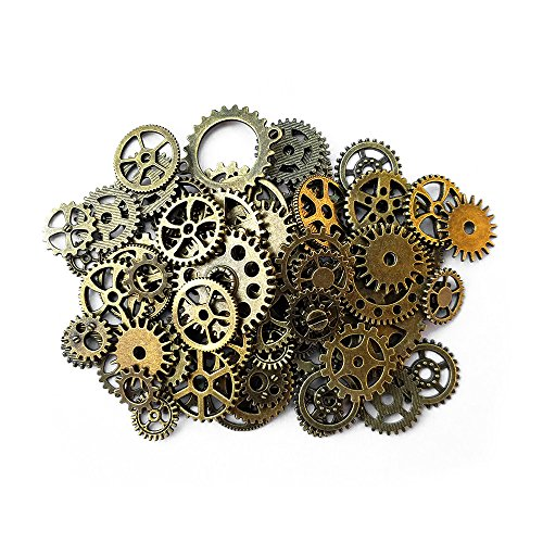 aoyoho-100-gram-assorted-antique-steampunk-gears-charms-pendant-clock-watch-wheel-gear-for-crafting