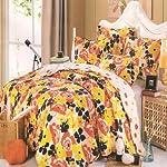 3 Piece 100% Cotton Quilt Set /Bed Spread Daisy Flower
