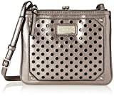 Nine West Double Vision Cross Body, Hematite, One Size