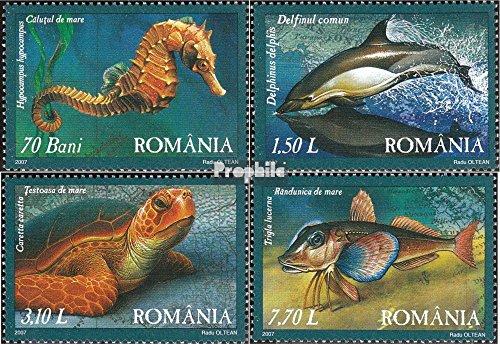Rumänien 6163-6166 (kompl.Ausg.) 2007 Fauna des Schwarzen Meeres (Briefmarken für Sammler)