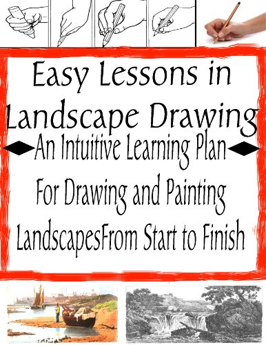 How to Easily Learn to Draw Landscapes | How to Learn Drawing | Drawing in Pencil (The Secrets of Drawing)