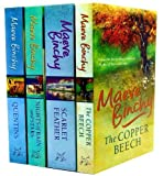 Maeve Binchy Collection 4 Books Set RRP £28.96 (Nights of Rain and Stars (No 1 Bestseller) , The Copper Beech, Scarlet Feather, Quentins) Maeve Binchy