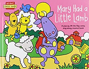 Mary Had A Little Lamb Lets Start from Design Eye Publishing