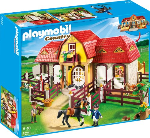 Playmobil Large Horse Farm With Paddock front-1051260