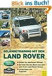 Gel�ndetraining mit dem Land Rover
