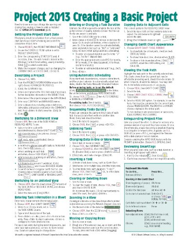 online reference sheet