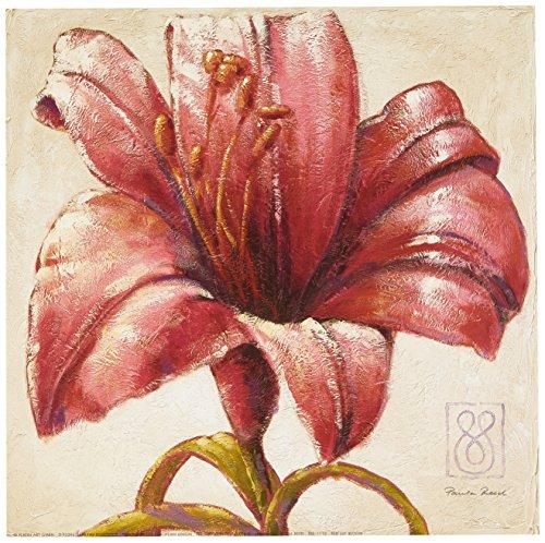 eurographics-pre1110-paula-reed-red-lily-bloom-30-x-30-cm-hochwertiger-kunstdruck-lilien