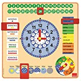 Toy - Jumbo D51309 - Kalender-Uhr