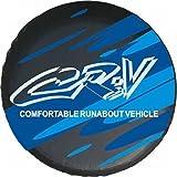 Blue Logo Honda Crv 15 Inch Car Spare Wheel Cover Spare Tire Cover