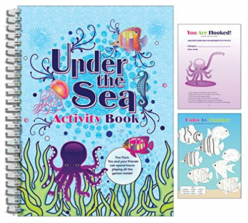iscream Under the Sea 96-page Activity Book with 3D Cover