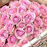 〔エルフルール〕バラの花束 20本 カラー:ピンク 結婚記念日 プレゼント 薔薇 誕生日祝い 贈り物 クリスマスプレゼント 彼女