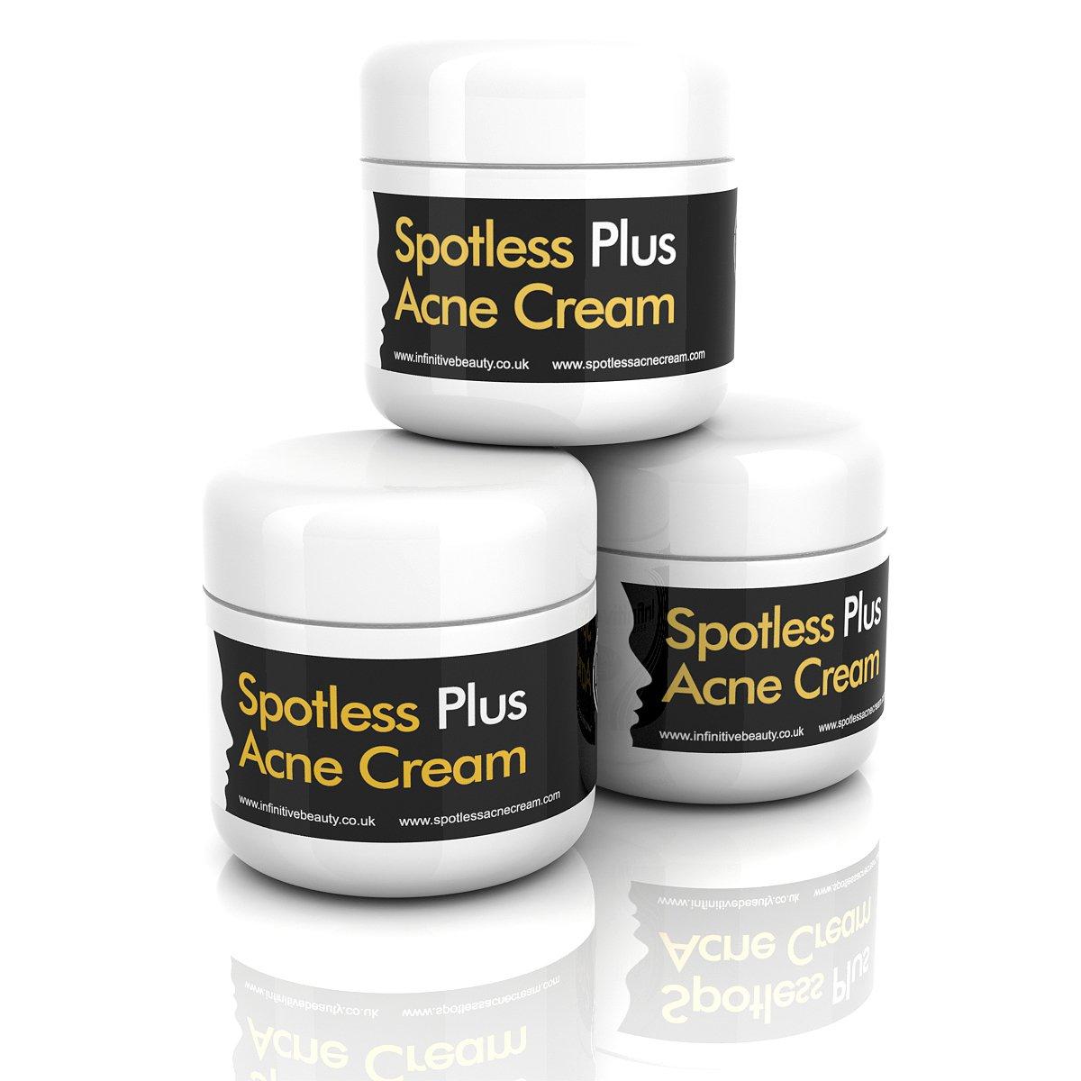 1 spotless acne cream fast treatment clear skin face spot scars cure retinol uk ebay. Black Bedroom Furniture Sets. Home Design Ideas
