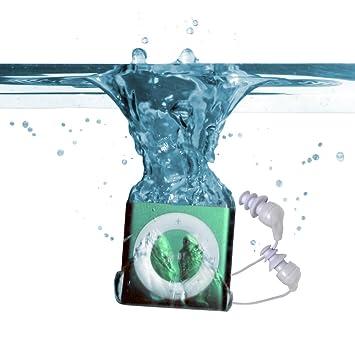 Underwater Audio Waterproof iPod Swimbuds Bundle Silver