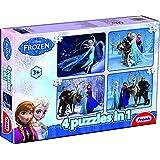 Frank Disney Puzzles 4 In 1, Multi Color
