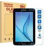 MENZO Samsung Galaxy Tab E Lite 7.0 / Tab 3 Lite 7.0 Screen Protector, [9H Hardness] [Crystal Clear] [Bubble Free] Tempered Glass Screen Protector for Samsung Galaxy Tab E Lite 7.0 / Tab 3 Lite 7.0 (Color: Clear)
