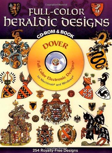 Full-color Heraldic Designs (Dover full-color electronic design series)
