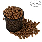 TOPRADE Professional Slingshot Ammo About (9mm) Hard Clay Ball, Environmentally Friendly. (300)