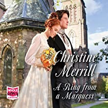 A Ring from a Marquess Audiobook by Christine Merrill Narrated by Jenny Sterlin