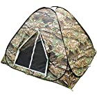 Camouflage Camping Hiking Easy setup Instant Pop Up Tent 2-3 Person