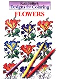 Designs for Coloring: Flowers (0448031477) by Heller, Ruth
