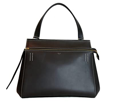 Celine Women\u0026#39;s Gray Leather Tote Shoulder Bag: Handbags: Amazon.com