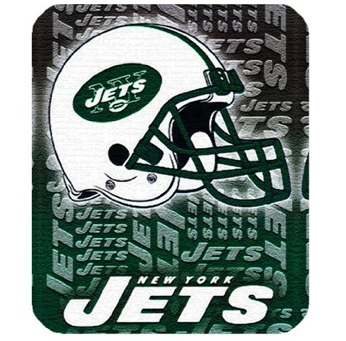 Mouse pad with New York Jets football theme by padcaseskingdom at Amazon.com