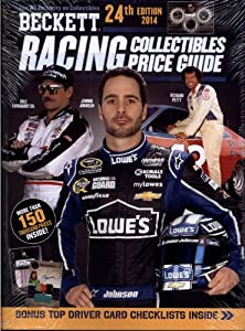 2014 Beckett Racing Collectibles Price Guide #24 - NASCAR Trading Cards Die-Cast... by Beckett