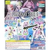 SR ファンタシースターZERO PHANTASY STAR 0 ゼロ フィギュア ガチャ セガ ユージン(全7種セット)