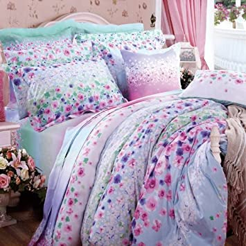 purple floral bedding sets NdQvMsTz
