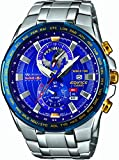 Casio EFR-550RB-2AER Mens Edifice Red Bull World Time Silver Watch