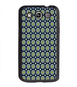 Printvisa Ultra Circular Pattern 2D Hard Polycarbonate Designer Back Case Cover for Samsung G...
