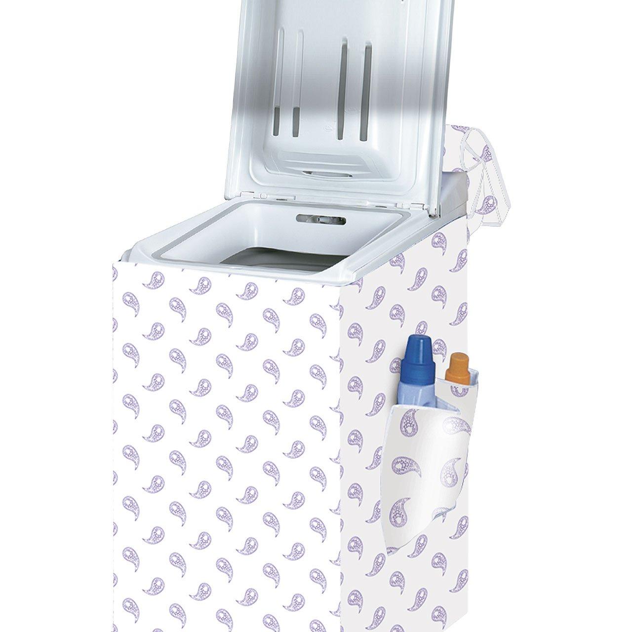 Rayen 2396 - Funda para lavadora de carga superior, 84 x 45 x 65 cm, surtido colores aleatorios   Comentarios y más información