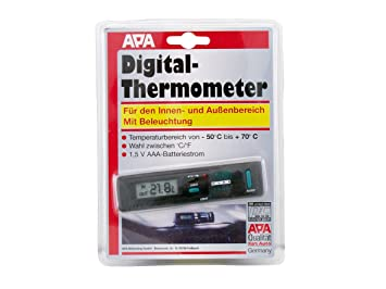 Thermom tre digital int rieur ext rieur int rieur for Thermometre digital exterieur