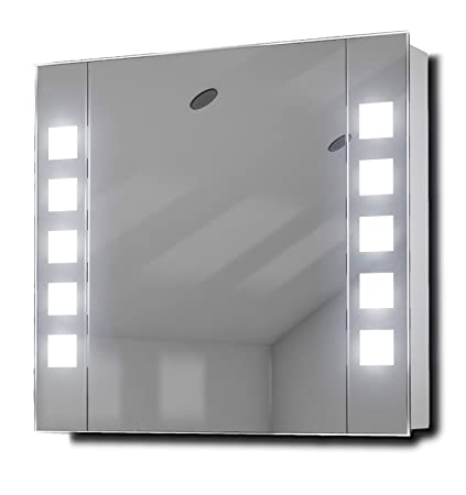 Noble Demister LED Bathroom Cabinet With Demister, Sensor & Shaver k63