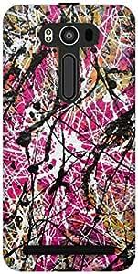The Racoon Lean printed designer hard back mobile phone case cover for Asus Zenfone 2 Laser ZE550KL. (color spla)
