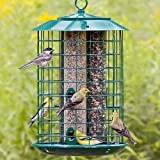 Duncraft 18202 Safe Haven Wild Bird Feeder With Metal Seed Tray