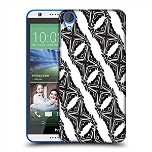 Snoogg Cross Pattern Designer Protective Phone Back Case Cover For HTC Desire 820